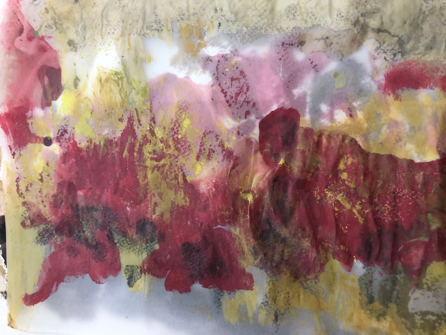 POPPIES, WATERCOLOR, 33x23,5 cm ©loretosaura2018