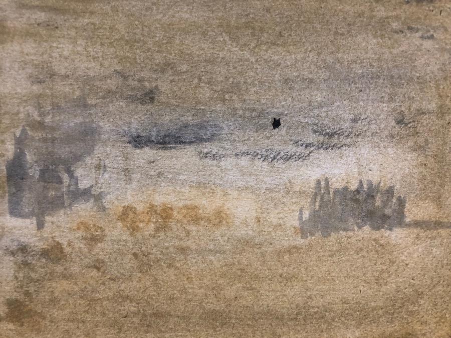 LANDSCAPE, WATERCOLOR, 19 x 15 cm, ©loretosaura 2019