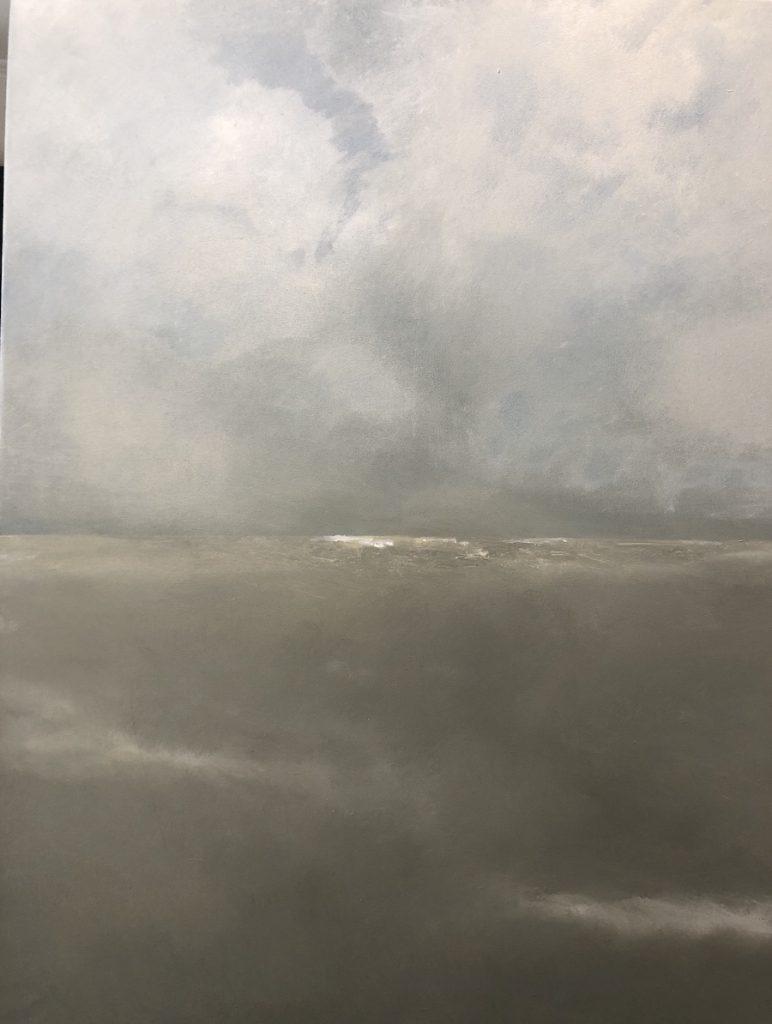 INVIERNO,  OIL ON CANVAS, 100 X 80 cm, ©loreto saura 2019