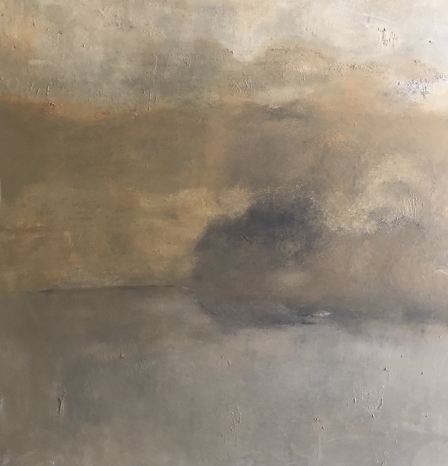 TIERRA,  OIL PAINTING, 100 X 80 cm, ©loreto saura 2018