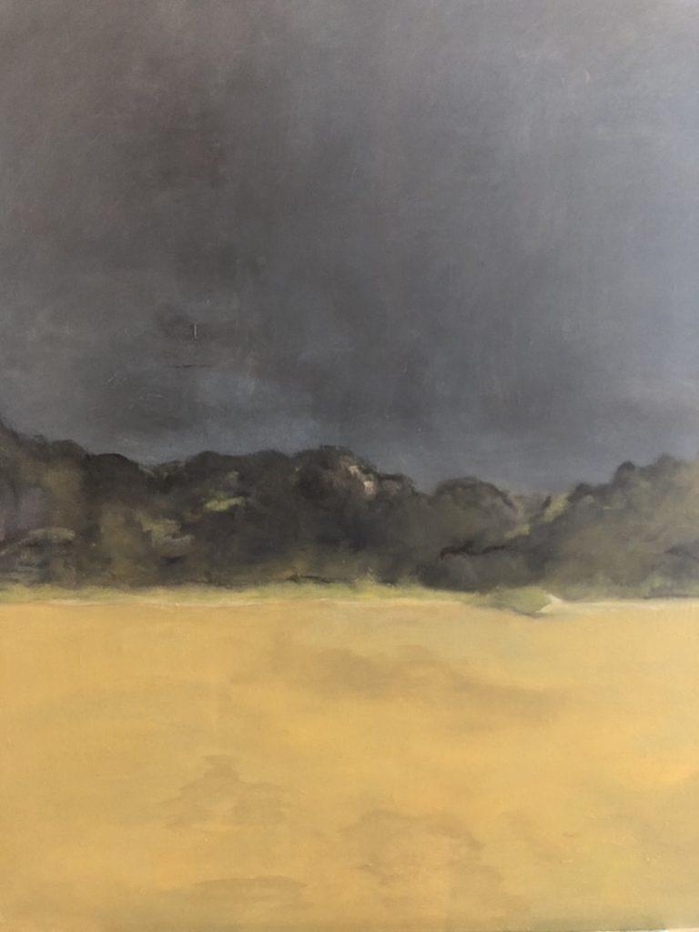 BOSQUE,  OIL ON CANVAS, 90 X 73 cm, ©loreto saura 2019