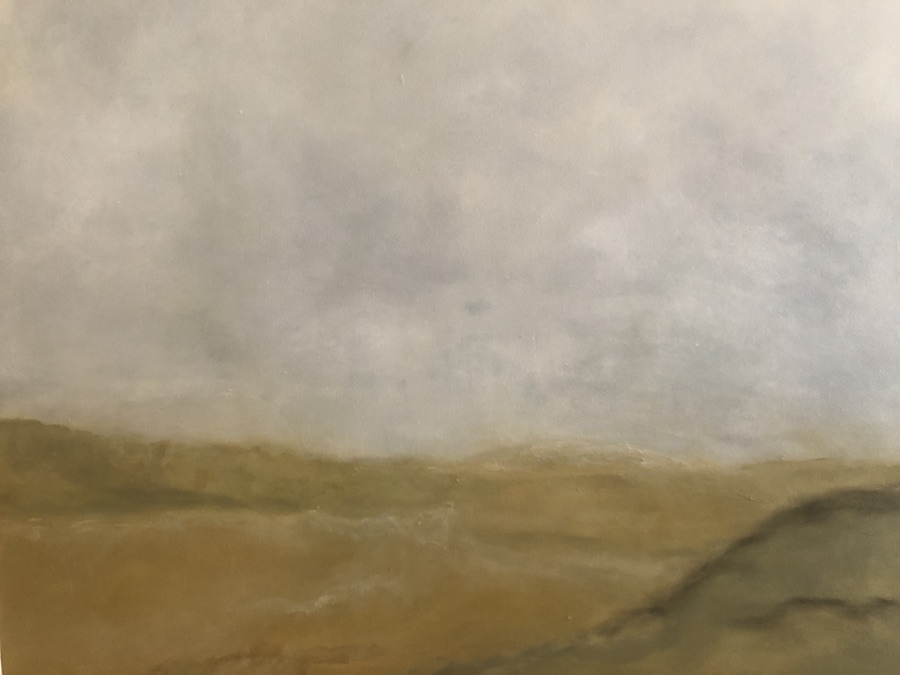 PAISAJE,  OIL ON CANVAS, 92 X 73 cm, ©loreto saura 2019