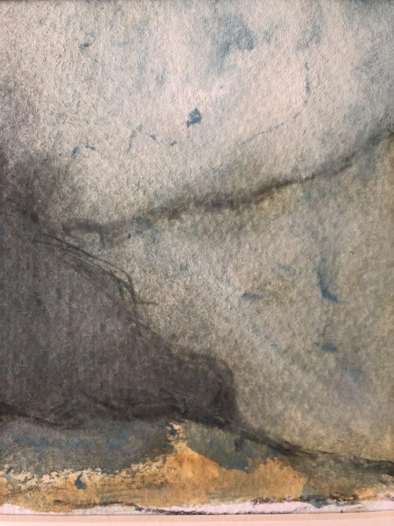 LANDSCAPE,  WATERCOLOR, 14 X 19 cm, ©loreto saura 2019