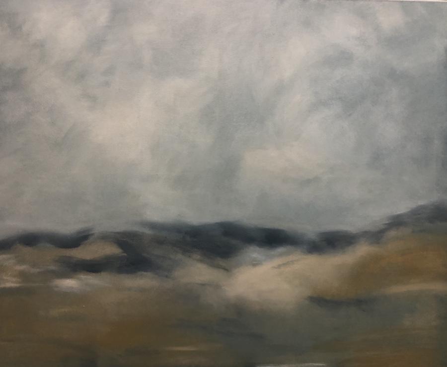 PAISAJE,  OIL ON CANVAS, 100 X 80 cm, ©loreto saura 2019
