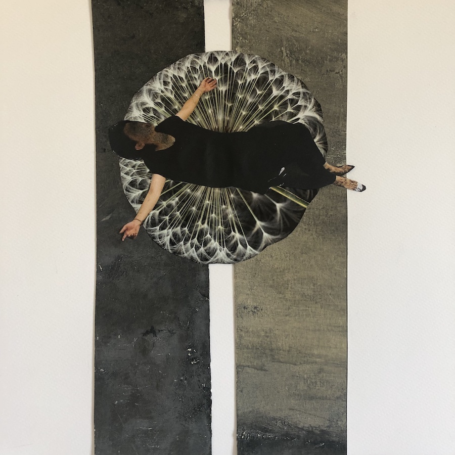 VIDAS TRONCADAS,  COLLAGE, 24 X 30 cm, ©loreto saura 2020