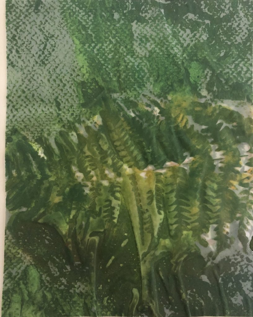 NATURALEZA, ACUARELA/ PAPEL VEGETAL, 13 X 16 cm, ©loreto saura 2020